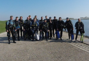 Zonnig 1e duikweekend 2017 Grevelingenmeer